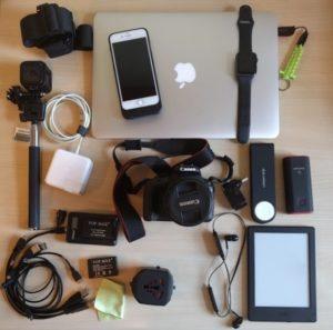 Packing electronics