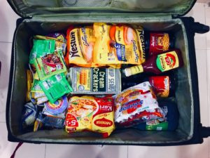 Packing foods for malaysians